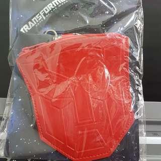 包平郵 全新 transformers 變型金剛 紅色 八達通卡套