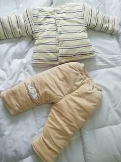 Babies winter suit