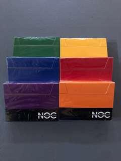 NOC Playing Cards Set of 6 Decks