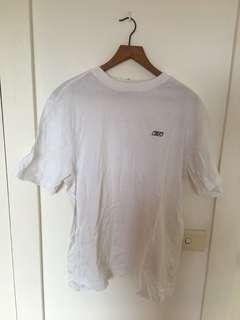 Reebok oversize white tshirt