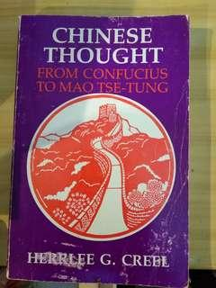 from confucius to mao tse-tung