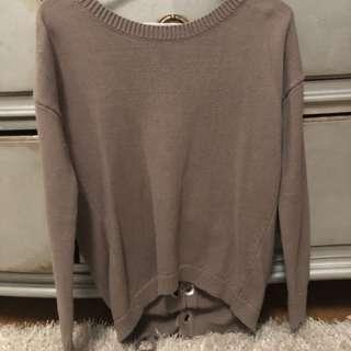Tie Up Sweater