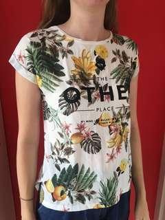 Tropical Zara tshirt