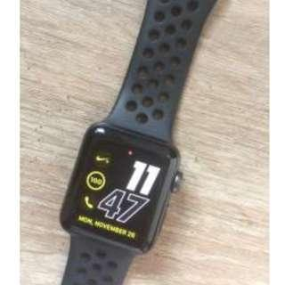 Apple Watch 3 Nike Series 38mm Good Condition Like New