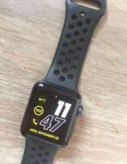 Apple Watch 3 Nike Series 38mm Good Condition