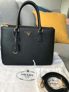 Prada Saffiano Lux Galleria Shopping Bag 32cm