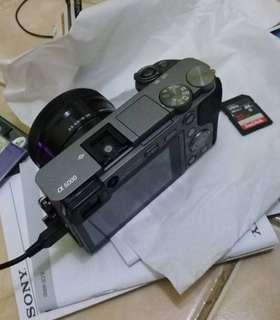 Sony A6000 KIT GREY ILCE Good Condition - Pemakaian Jarang