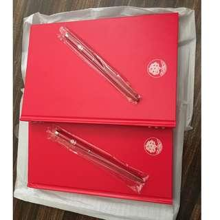 Crabtree & Evelyn Diamond notebook