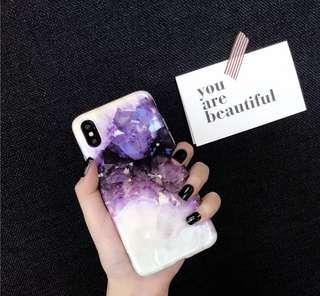 大理石水晶 iPhone X/XS 手機殼 軟殼 全包邊