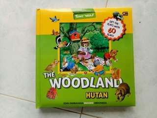 buku anak tony wolf the woodland / hutan