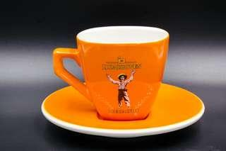 德國J.J. Darboven經典Café套杯﹙濃縮咖啡杯連底碟 | 可共買2套$480﹚