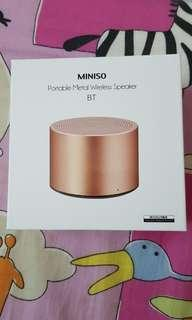 MINISO Portable Metal Wireless Speaker