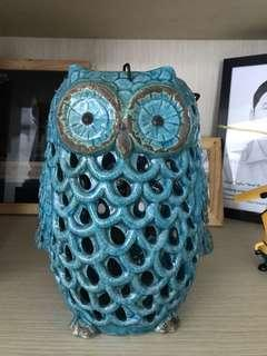 Home Deco Owl Candle lantern