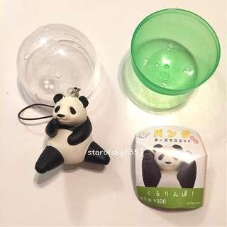 🚚 日本 熊貓 轉蛋 上野 動物園 panda  吊飾 坐款 公仔 軟 玩偶 新品