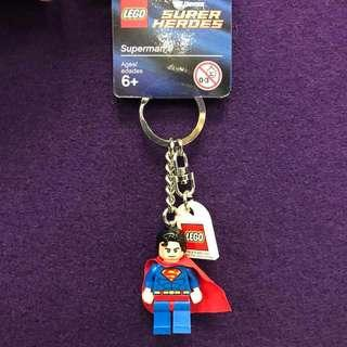 Superman Lego Keychain (brand new and original)