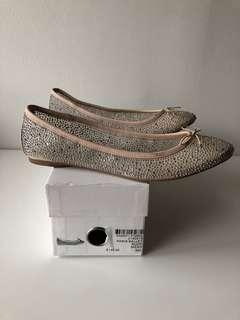 Bedazzled flats