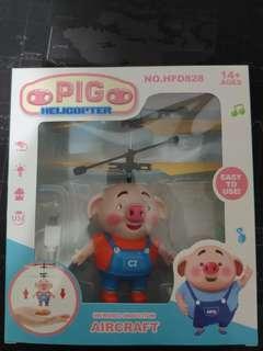 🚚 海草豬飛行器玩具