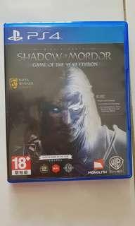 Shadow of mordor Game Of the Year edition (Complete Edition)