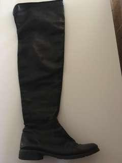 Tony bianco over the knee leather boots