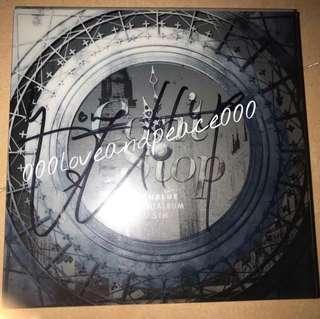 CNBLUE can't stop 鄭容和 親筆簽名 cd