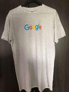 🚚 Original light grey Google official tshirt