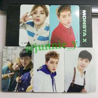 [WTT] MONSTA X THE CONNECT Photocards
