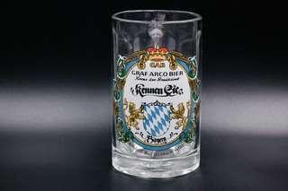 GRAF ARCO巴伐利亞0.25L玻璃啤酒杯 (可買1對$330)