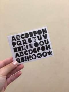 Sticker Sephora Peel Off