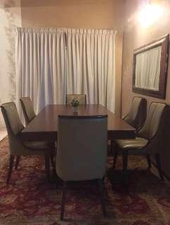 Lorenzo 6 Seater Dining Table With Chairs