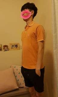 Fred Perry Polo T special edition, 特別版特別色 9成新