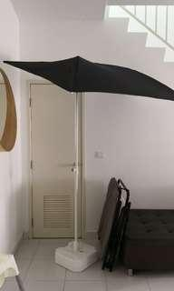 Ikea Parasol with base