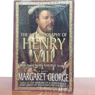 Autobiography of Henry VIII by Margaret George