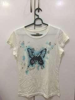 💥PRE-LOVED ORIGINAL GUESS WHITE TOP💥