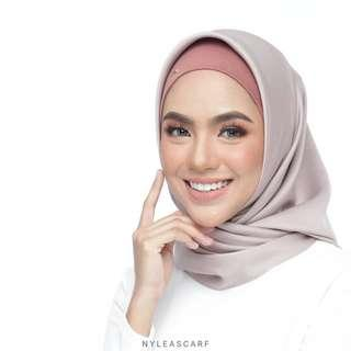 🚚 Musalmah Square Shawl by Nyleascarf - Lace