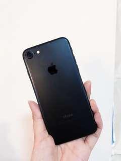 IPhone 7!狀態良好! 128GB 黑色 有盒+全部配件