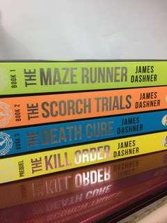 The Maze Runner Series - James Dashner