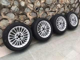 Bmw original sport rims