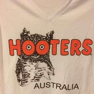 Hooters T Shirt Costume Party