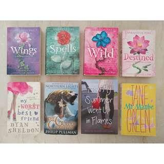 Aprilynne Pike Complete Set Of 4 Wings Series Books & 4 Other Author Books