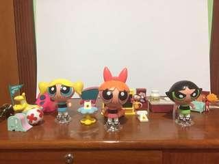 Powerpuff Girls display set