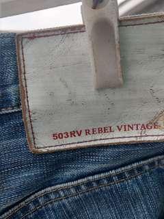 Edwin rv vintage 33腰