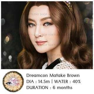 Softlense Dreamcon Matake Brown