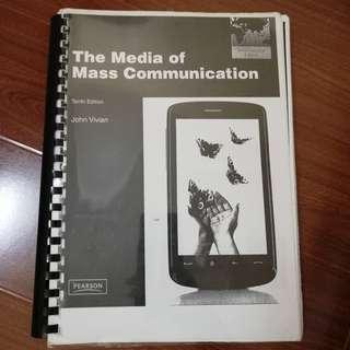 Mass Communication/ Public Relations photocopy textbook