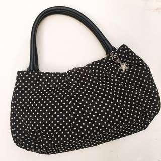 Agnes b Polka Dot Handbag