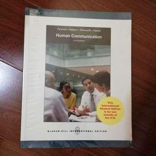 Human Communication 4th Edition (Mcgraw Hill International Edition)