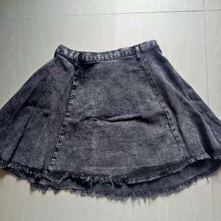 Hnm jeans skirt