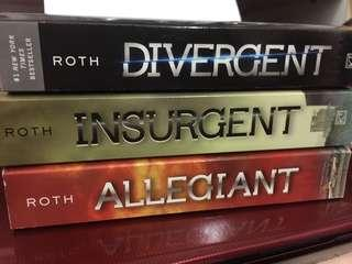 The Divergent Trilogy - Veronica Roth