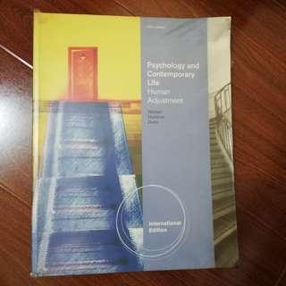 Psychology and Contemporary Life Human Adjustment (10th edition)