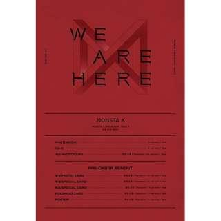 [PREORDER] 몬스타엑스 (MONSTA X) - 2집 TAKE.2 [WE ARE HERE]