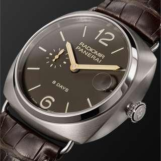 PANERAI PAM 346 - Radiomir 8 Days Titanio 45mm Brushed-Titanium